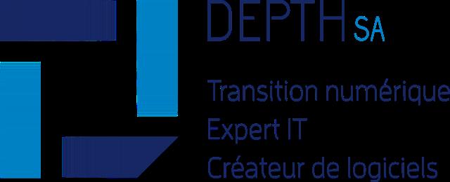 Logo Couleur Horizontal - DEPTH SA
